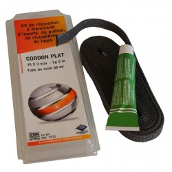Kit cordon plat 15mm