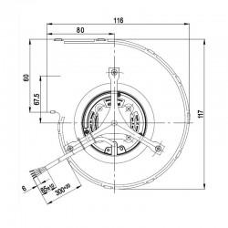 Ventilateur centrifuge 14706001